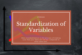 Why Standardization of variables is important? 1