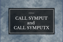 CALL SYMPUT in SAS